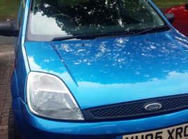 Ford Fiesta, 2005 (05) Blue Hatchback, Manual Petrol, 81,000 miles