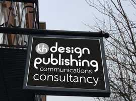 Full agency design, publishing, communications consultancy service