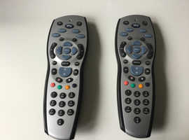 SKY REMOTE CONTROLS (Genuine remotes).  £5 each. I have two