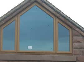 Irish Oak PVC Windows