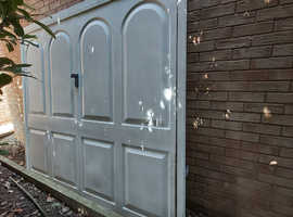 Garage door for sale. Up and over syle