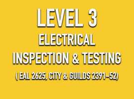 ELECTRICAL INSPECTION & TESTING (6 DAYS)