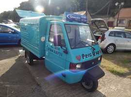 MOBILE COFFE VAN ~ PIAGGIO APE CONVERSION - READY TO START EARNING