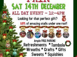 Christmas Fair Saturday 14th December 12-4pm