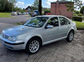 Volkswagen Bora, 2005 (05) Silver Saloon, Manual Diesel, 134,000 miles