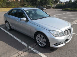 Mercedes C CLASS, 2011 (11) Silver Saloon, Automatic Diesel, 65,000 miles