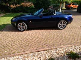 Mazda MX-5, 2007 (07) Blue Convertible, Manual Petrol, 35,820 miles