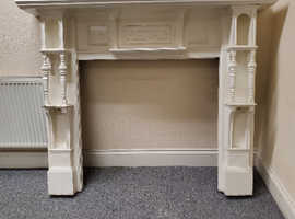Victorian Timber Fire Surround