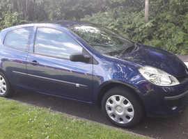 Renault Clio 2008 diesel great mpg long mot