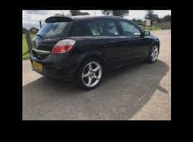 Vauxhall Astra, 2005 (54) Black Hatchback, Manual Petrol, 88,208 miles