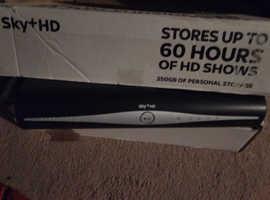 Sky+HD box.