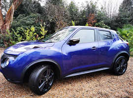 Nissan Juke, 2017 Purple Hatchback, Manual Diesel, 23,010 miles