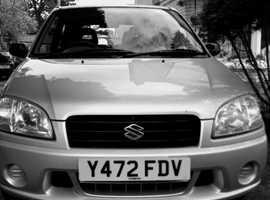 Suzuki Ignis, 2001 (Y) Silver Hatchback, Manual Petrol, 82,047 miles