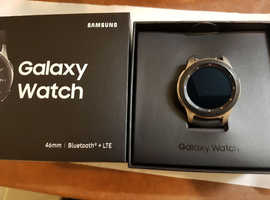 Samsung Galaxy Watch 4G 46mm - Silver