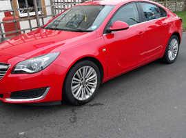 Vauxhall Insignia, 2014 (14) Red Saloon, Manual Diesel, 56,088 miles