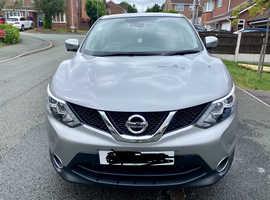Nissan Qashqai, 2017 (17) Silver Hatchback, Manual Diesel, 40,300 miles