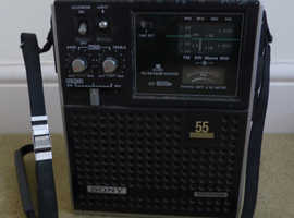 Sony ICF-5500 S/W Portable 4 Band Receiver
