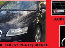 Audi A6 S line 2.0 TDI 2007 (57) - S-line Dark Blue Manual