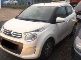 Citroen C1, 2018 (18) White Hatchback, Manual Petrol, 12,961 miles