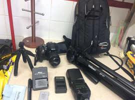 Nikon d5300 24.2mp dslr full setup