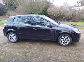 Vauxhall Astra, 2007 (56) Black Hatchback, Manual Petrol, 145,225 miles