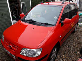 Hyundai Matrix, 2003 (03) Red MPV, Automatic Petrol, 61,000 miles