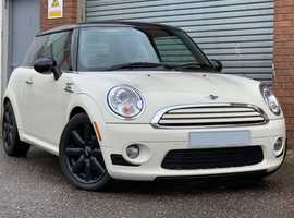 Gorgeous Mini 1.6 Cooper in Pepper White, Immaculate Car Throughout, Comprehensive Service History