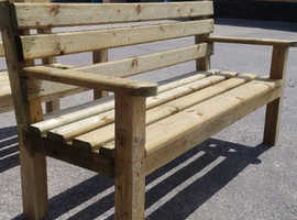 Garden benches and plant ladders