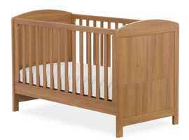 Cot/toddler bed (Mothercare) and mattress (silentnight) with washable covers & mattress protectors