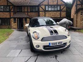MINI ROADSTER, 2015 (15) White Convertible, Manual Petrol, 38,000 miles
