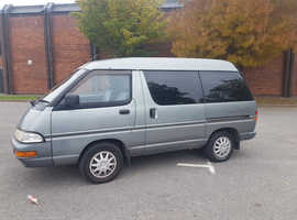 Toyota LITE-ACE, 1995 Silver MPV, automatic Diesel, 100,000 miles