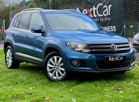 Volkswagen Tiguan 2.0 TDI BlueMotion Tech Match 4Motion 4WD Lovely Low Mileage 4 Wheel Drive Tiguan, Only 1 Previous Keeper Since New