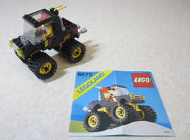 LEGO ROAD AND TRAIL 4 X 4 6675