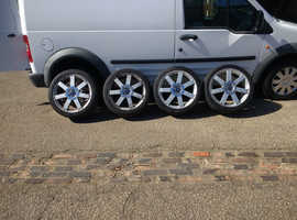 """18"""" alloys and tyre's,ford 5 stud vehicles."""