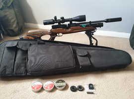 Weihrauch HW100 Laminate .177 air rifle