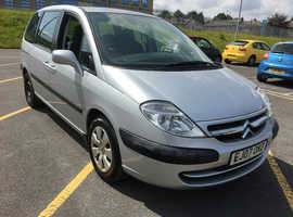 Citroen C8, 2007 (07) Silver Estate, Manual Diesel, 93,000 miles