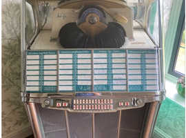 Wurlitzer jukebox 1957