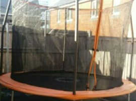 10 ft sports power trampoline