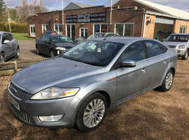 Ford Mondeo, 2008 (57) Silver Hatchback, Manual Diesel, 86,000 miles