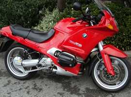 BMW R1100RS 1996 66000 MILES MOT JUNE RED HIGE SCREEN LOVELY CONDITION