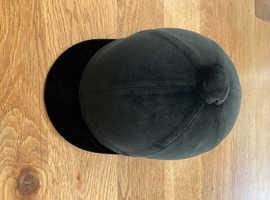 Velvet riding hat