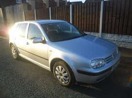 Volkswagen GOLF S, 1.6 2002 (02) Silver Hatchback, Manual Petrol, 117,000 miles