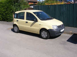 Fiat Panda, 2009 (58) Yellow Hatchback, Manual.