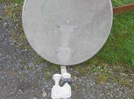 60 cm satelite dish wity lnb