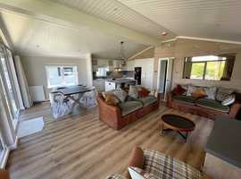 """""""ONLY TWO REMAINING""""  Six Exclusive Park Home Lodges In Newquay, Cornwall."""