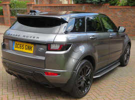Range Rover Evoque, HSE Dynamic, Auto, 7 months Land Rover warranty.