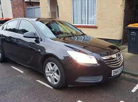 Vauxhall Insignia, 2010 (60) Black Hatchback, Manual Diesel, 95,000 miles