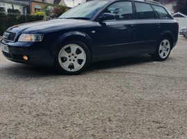 Audi A4, 2002 (52) Blue Estate, Manual Diesel, 243,000 miles