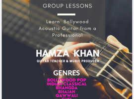 Indian guitar teacher London