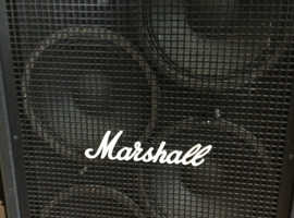 Marshall Bass Cab. 800 Watts . 4 x 12 inch speakers. Perfect working order.